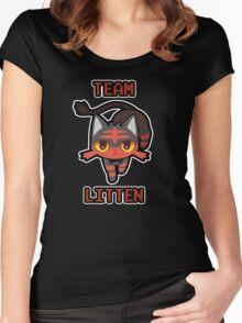 Team Litten Women's Fitted Scoop T-Shirt