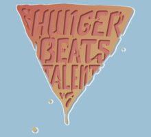 Hunger Beats Talent - Orangutan Orange  Baby Tee