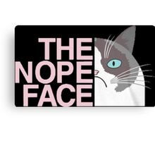 THE FACE NOPE Canvas Print