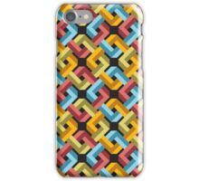 Impossible Square Pattern iPhone Case/Skin