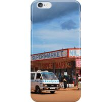 Nile Supermarket, Jinja, Uganda iPhone Case/Skin