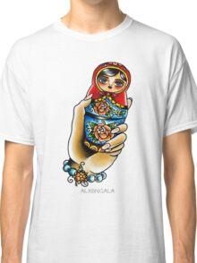 Hand Holding Matryoshka  Classic T-Shirt