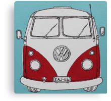 VW Camper Van  Canvas Print