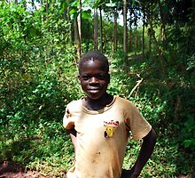 Ugandan Child, Jinja, Uganda by clydemax