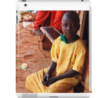 Ugandan Child, Jinja, Uganda iPad Case/Skin