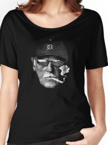 Cigarette Smoking Jim Leyland cool Women's Relaxed Fit T-Shirt