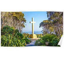 The Cross at Mount Macedon Poster