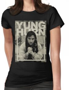 yung hurn Womens Fitted T-Shirt