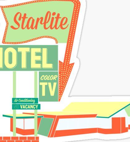 Visit The Starlite! Sticker