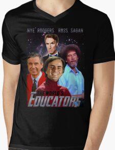 The Educators Mens V-Neck T-Shirt