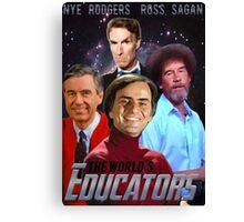 The Educators Canvas Print