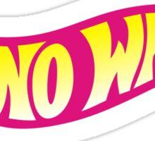 No Wheels: Hoverboard Sticker