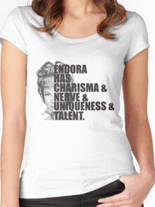 endora 2 Women's Fitted Scoop T-Shirt