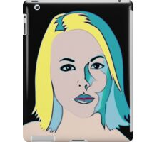 Blonde Mystery Girl iPad Case/Skin