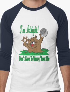 The Gopher and the Golf Ball Men's Baseball ¾ T-Shirt