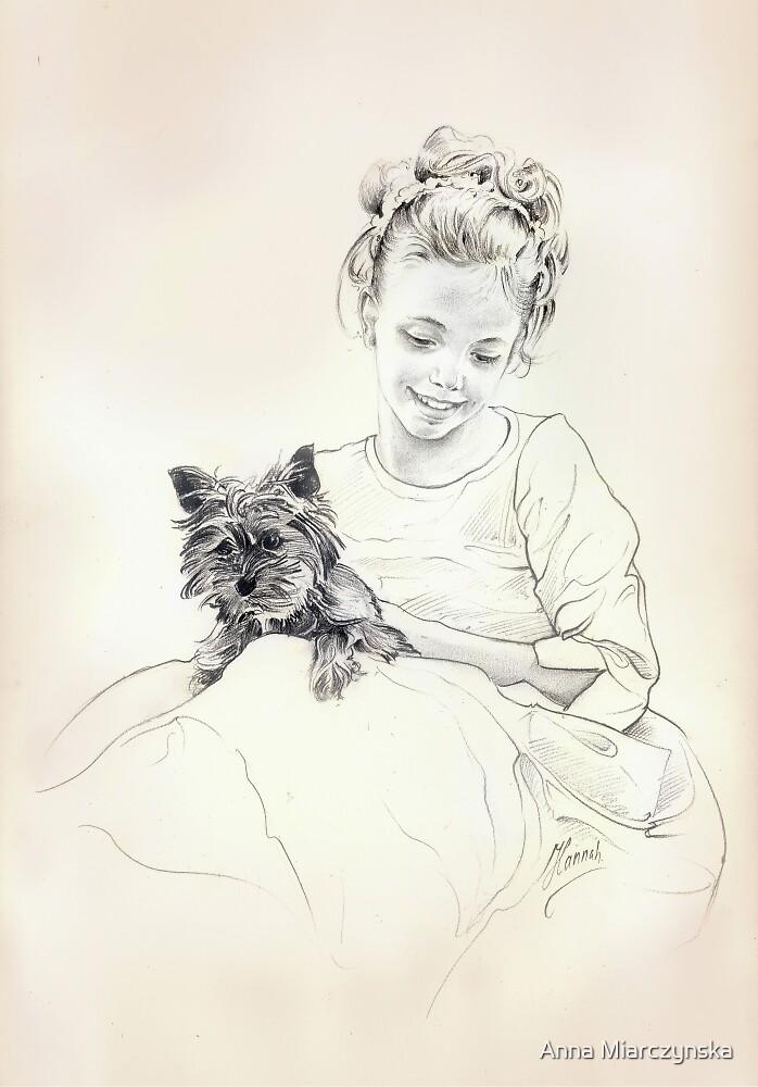 Portrait of Sylwia by Anna Miarczynska
