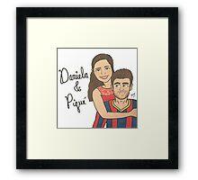 Daniela's Commission Framed Print