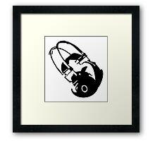 Headphones VRS2 Framed Print