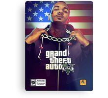 The Game - GTA 5 Metal Print