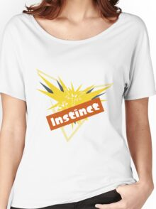 Pokemon GO Splatfest Team Instinct Women's Relaxed Fit T-Shirt