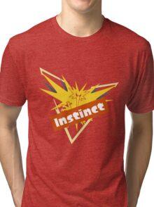 Pokemon GO Splatfest Team Instinct Tri-blend T-Shirt