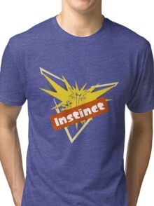 Pokemon GO Splatfest Team Instinct Tri-blend T-Shirt