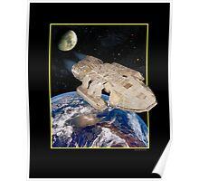 Commander Adamo finally finds Earth Poster