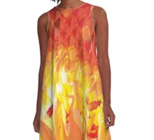 Phoenix from the Flames A-Line Dress
