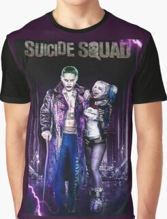 Harley Quinn & The Joker  Graphic T-Shirt