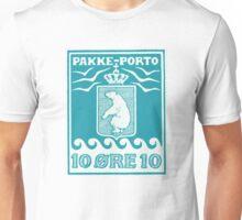 1905 Greenland Polar Bear Pakke-Porto Stamp Unisex T-Shirt