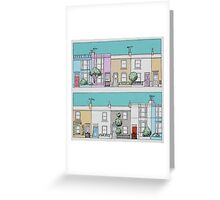 A Street Like Ours Greeting Card
