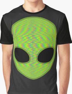 Rainbow Alien Graphic T-Shirt