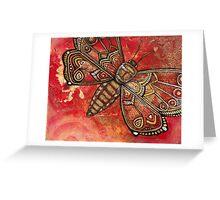 Mothdreams Greeting Card