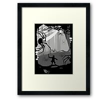 The Little Limbbit and the Spiders Framed Print