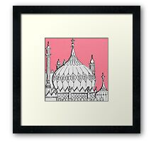 Pink Dome Framed Print