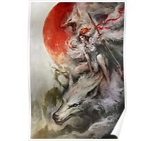 Princess Mononoke – Wolf Rider Poster