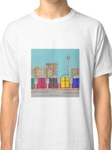 Hove Beach Huts Classic T-Shirt