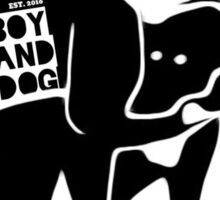boy&dogART Logo Sticker