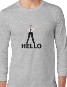 Hello- Book Of Mormon Long Sleeve T-Shirt