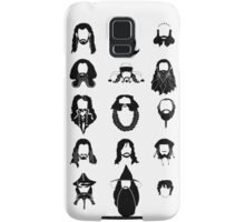 The Bearded Company Black and White Samsung Galaxy Case/Skin