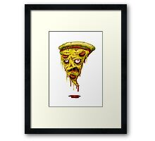 _zombie pizza Framed Print