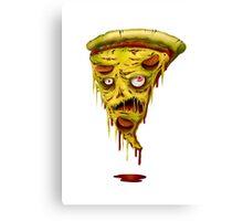 _zombie pizza Canvas Print