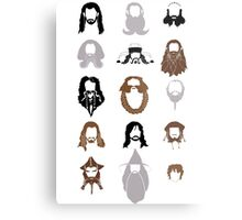 The Bearded Company Metal Print