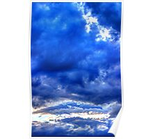 Clouds surreal #1 Poster