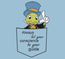 Conscience Be Your Guide Baby Tee