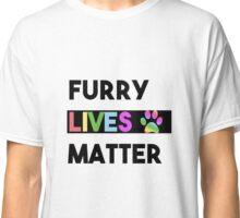 FURRY Lives Matter - Activist Civil Rights  Classic T-Shirt
