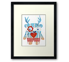 Forest Monster Framed Print