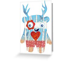 Forest Monster Greeting Card