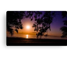 Tropical Sunrise Canvas Print