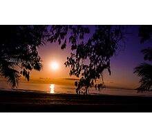 Tropical Sunrise Photographic Print